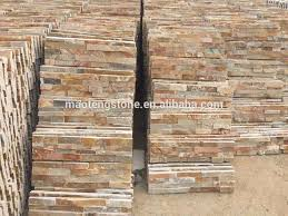 external slate wall tiles. natural stone wooden color cladding and external walls slate wall tiles