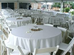 inch round plastic tablecloths tablecloth white color 90 pl