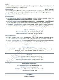 example australian resume accounting resume examples australia krida info