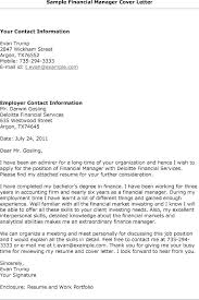 finance cover cover letter samples for finance manager tomyumtumweb com
