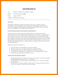 Sample Internal Memo Template 24 Internal Memo Examples Hostess Resume 8