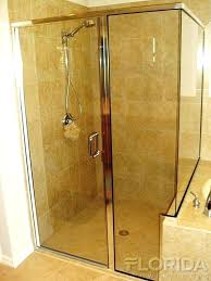 shower pull knob a 1 4 semi inline with notched panel and return panel and a shower pull knob upgrade your shower glass