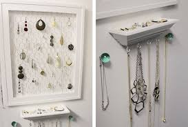 bedroom wall decoration ideas. 3. Jewelry Organizer Bedroom Wall Decoration Ideas X