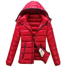 2014 Moncler Bady Winter Women Down Jacket Zip Hooded Red Shopping New  Design On Sale
