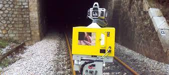Railway tunnel 3D survey – Astrolabe Engineering