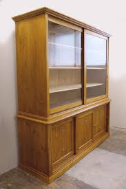 Storage Cabinet Sliding Doors German Huge Storage Cabinet With Sliding Doors 1910s For Sale At
