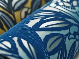 Small Picture Peacock Blue Designer Wallpaper