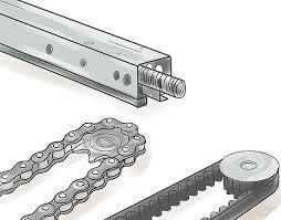 drive garage door opener throughout vs belt chain plans 3