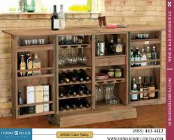 Wine Bar Storage Cabinet 695156 Howard Miller Classic Portable Wine Bar Console Cabinet