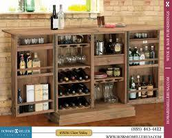 Portable Liquor Cabinet 695156 Howard Miller Classic Portable Wine Bar Console Cabinet