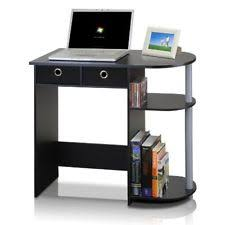 computer desk small spaces. Computer Desk For Small Spaces Home Office Furniture Table Workstation Black USA S