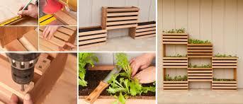 Vertical Kitchen Garden Diy Vertical Garden For Small Spaces