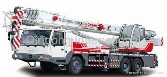 Zoomlion 32 55 Tons Truck Cranes Qy China Manufacturer