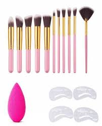 beaute parfaite sculpt and blend makeup brush set 11pcs