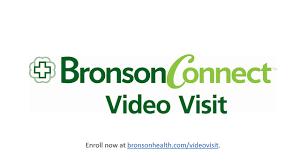 Bronson Connect Video Visit Bronson Healthcare