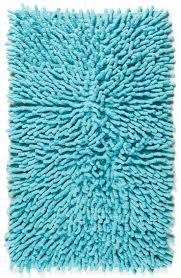 woven chenille green shag rug