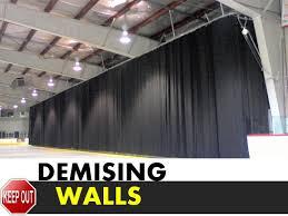 warehouse demising wall separate tenants