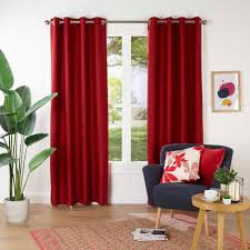 Maroon Curtains For Living Room Gummerson Rylee Eyelet Curtain Gummerson Spotlight Australia