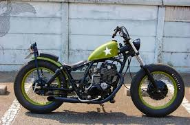 custom yamaha metric bobber motorcycle totally rad choppers
