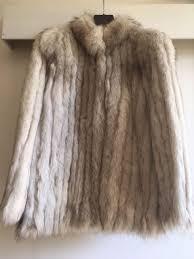 saga fox fox fur coat vintage
