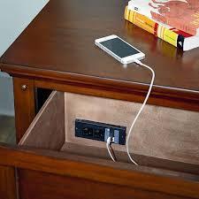 nightstand with usb. Interesting Usb Nightstand With USB Port Intended With Usb T