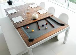 good looking fusion pool table and dining gadget flow