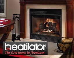 Heat U0026 Glo Northstar  Heatilator Constitution EPA Zero Clearance Fireplace Heatilator