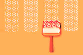 Patterned Paint Roller Designs Cool Inspiration