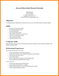 12 Account Receivable Resume Sample Offecial Letter