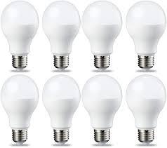 Regular Light Bulb Base Murphy 15watt Ac Led Bulb Base E27 Screw Round Standard Yellow Pack Of 8