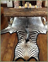 zebra rugs for photo 1 of 4 skin rug south faux hide fake real animal