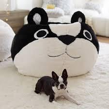 plush design boston terrier bedding critter beanbag pbteen baby crib sets