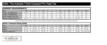 Atc Clothing Size Chart Atc Size Chart Kode Garment