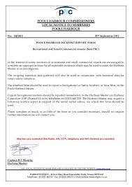Incident Report Form Recreational Poole Harbour