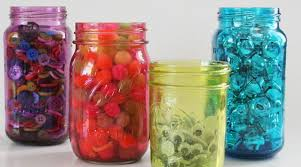 How To Decorate Canning Jars 100 Diy Mason Jar Crafts Lights Storage Vases Glitter Rilane 74