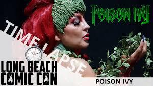 poison ivy time lapse long beach ic con 2018 ei makeup