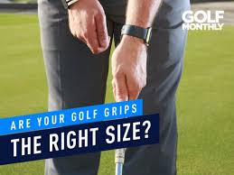 Ping Golf Grip Chart Are Your Golf Grips The Right Size Golf Monthly