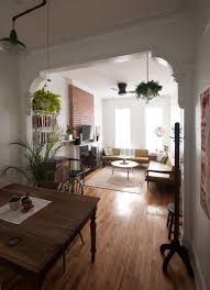 Apartment Designers Stunning Old School Charm In A Brooklyn Railroad Apartment In 48 ABODE