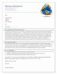 Cover Letter Template Ngo Resume Format