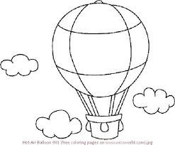 hot air balloon coloring page. Plain Page Balloon Coloring Pages Hot Air  To Print  And Hot Air Balloon Coloring Page C