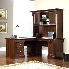 sauder executive desk with hutch office desk home office desk computer with hutch l shaped and