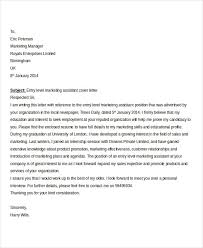 Entry Level Marketing Cover Letter Cool 48 Job Application Letters In PDF Free Premium Templates