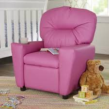 chairs candy kids recliner with cup holder soft seating fort