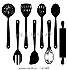 kitchen utensils silhouette vector free. Full Size Of Kitchen:kitchen Utensils Silhouette Vector Free Appealing Kitchen U