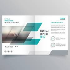 Brand Business Magazine Cover Template Layout Design With Abstra