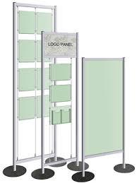 A Frame Display Stands Pedestal Frames Poster Display Stands DoublePost Sign Frame 25