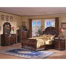 Sleigh Bed Bedroom Furniture Davis International Conventry Ii Traditional King Sleigh Bed With