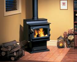 back to to clean the regency wood stove burning glass
