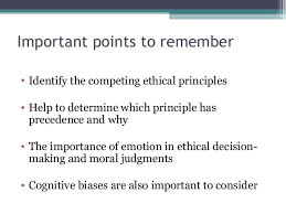 Ethical Decision Making Models Ethical Decision Making Models And Application