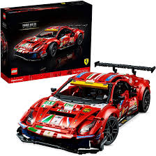 So, definitely not the same. Amazon Com Lego 42125 Technic Ferrari 488 Gte Af Corse 51 Super Sports Car Exclusive Collectible Model Collectors Set For Adults Toys Games